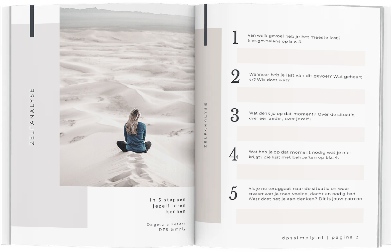 zelfanalyse leer jezelf kennen in 5 stappen