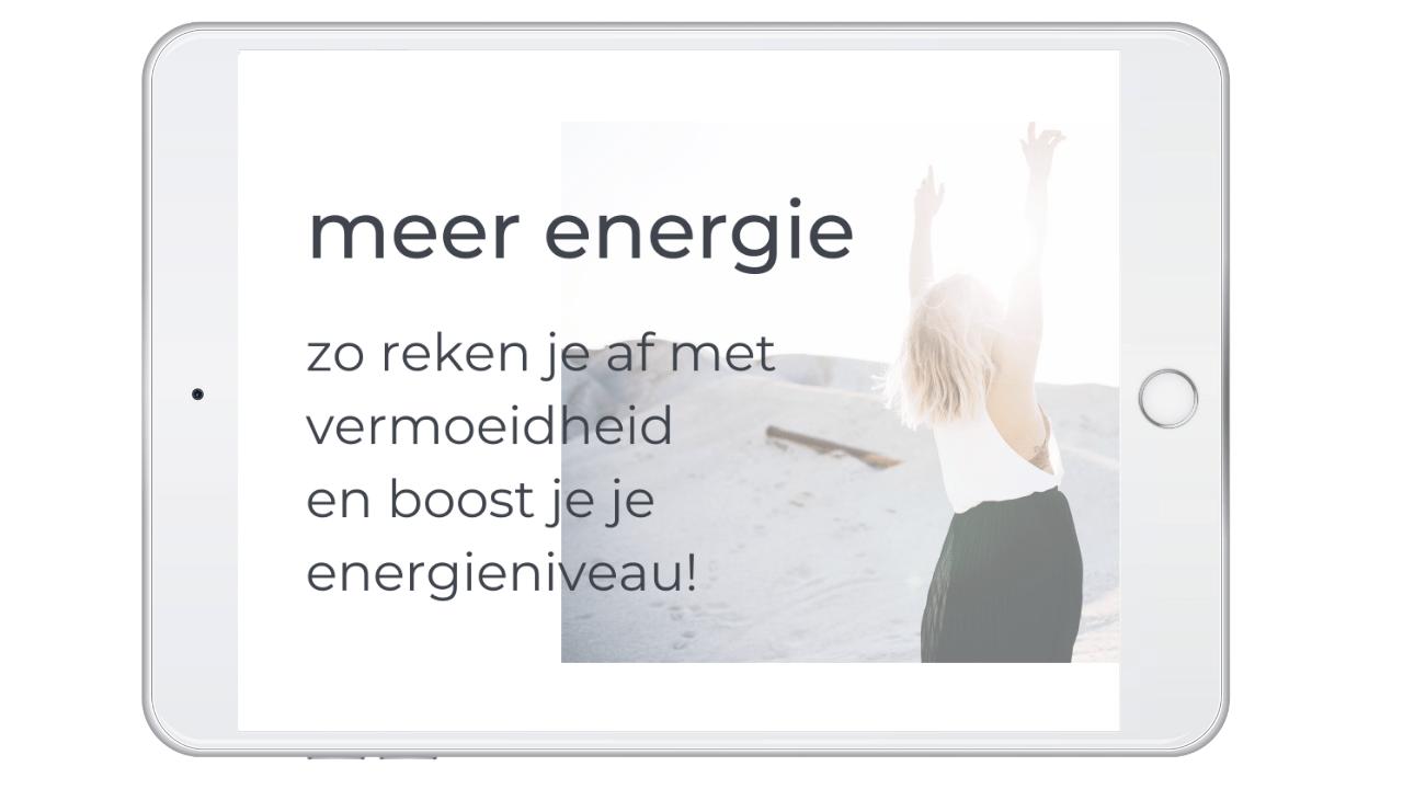 meer energie zo reken je af met vermoeidheid en boost je je energieniveau